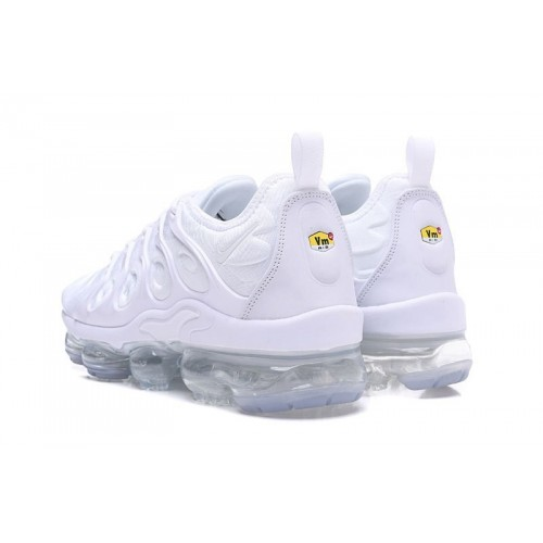 Men's Nike Air VaporMax Plus Triple White For Sale