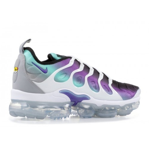 Men's Nike Air Vapormax Plus 924453-101 White Fierce Purple