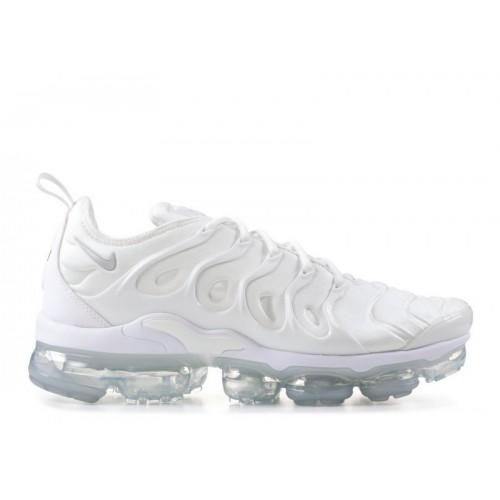 Men's Nike Air Vapormax Plus Triple White 924453-100