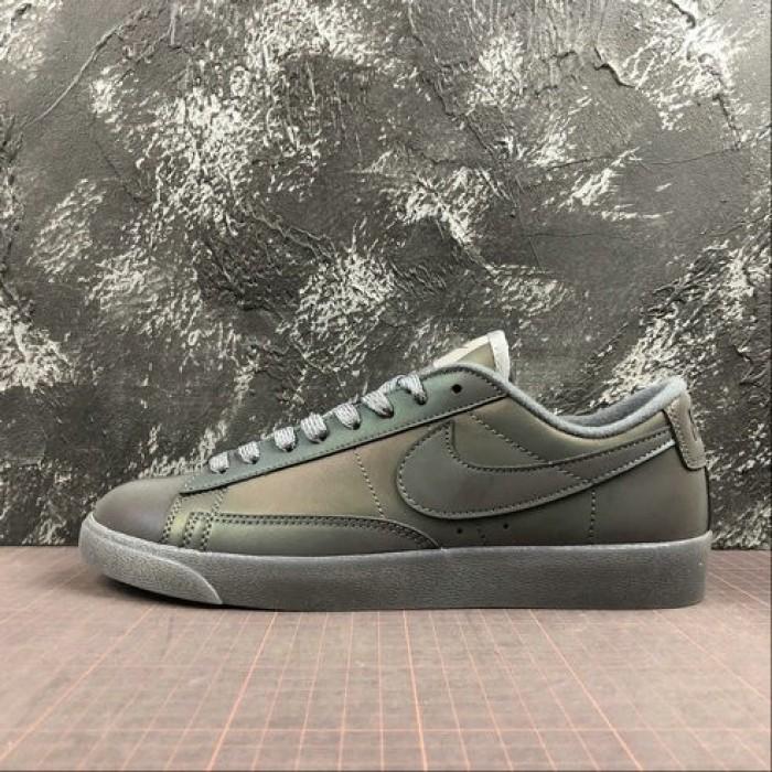 Men's 2019 Nike Blazer Low LX Black Dazzling AV9371-855