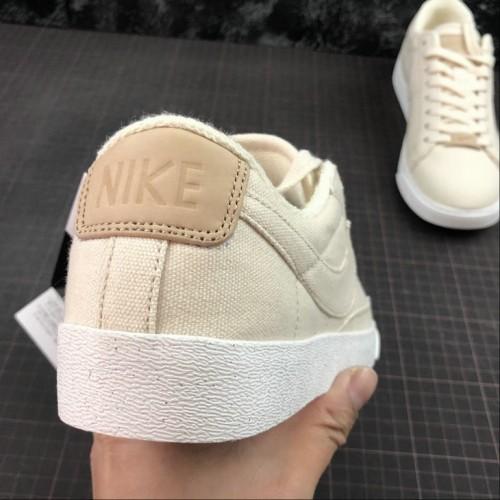 Men's 2019 Nike Blazer Low LX Plant Color Collection Pale Ivory
