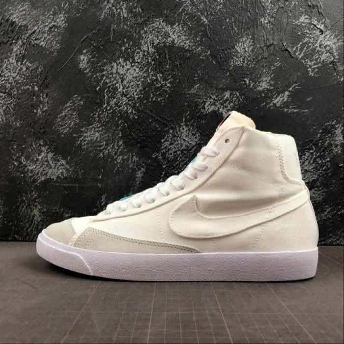 Men's 2019 Nike Blazer Mid 77 Sail CD8238-100