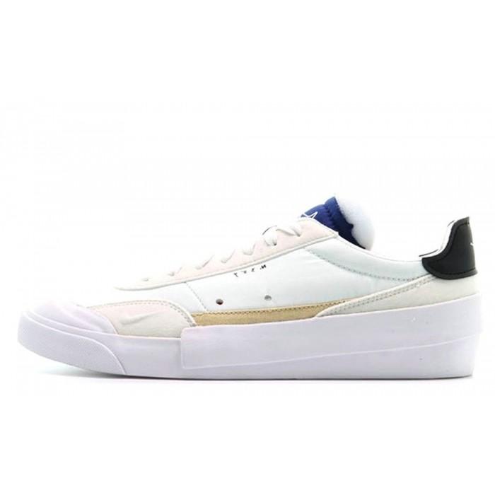 Men's 2019 Nike Drop Type LX White Blue AV6697-100