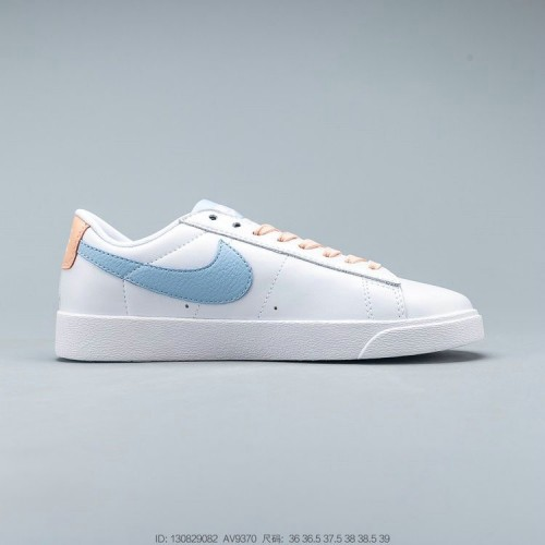 Women's Nike Blazer Low Le White Psychic Blue Sunset Haze