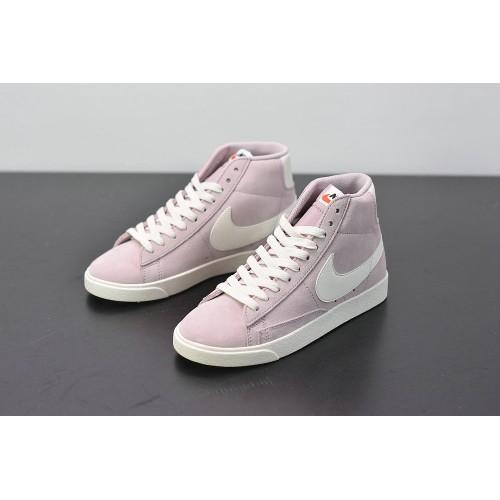 Women's Nike Blazer Mid Vintage Suede Pink BQ6894-600