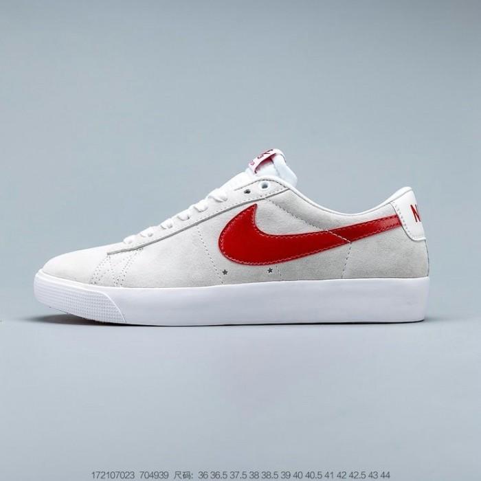 Women's Nike SB Zoom Blazer Low GT White 704939-101