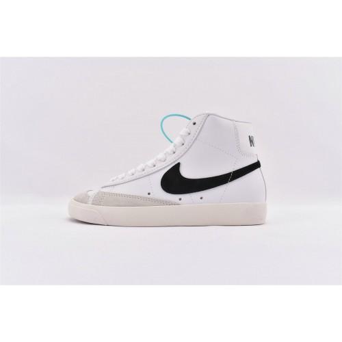 Men's Nike Blazer Mid 77 Vintage OG Black Swoosh BQ6806-100