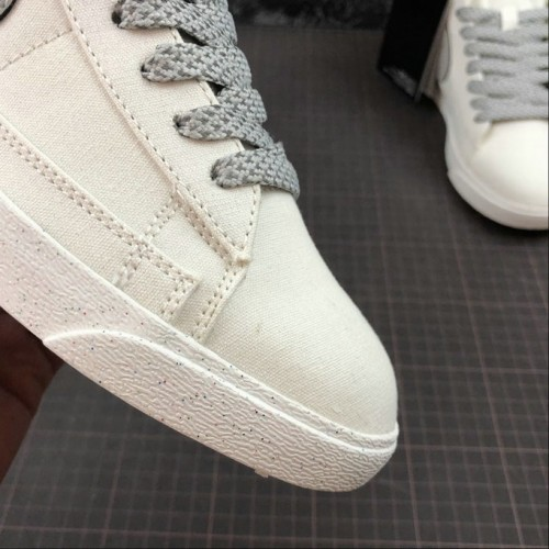 Men's Nike Blazer Mid PRM VNTG Ivory White Space Silver