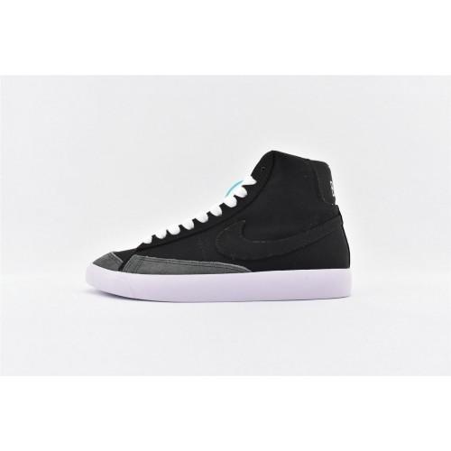 Men's Nike Blazer Mid Vintage 77 Black White CD8238-001
