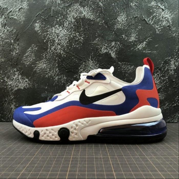 Nike React CA For ,Men's Nike React Air Max AQ9087-106 White Royal ...