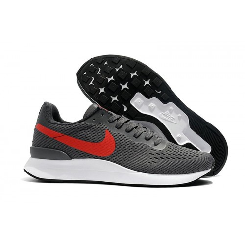 Men's Nike Internationalist LT 17 Grey Red Black White
