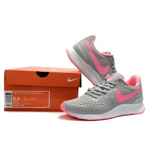 Women's Nike Internationalist LT 17 Pink Grey
