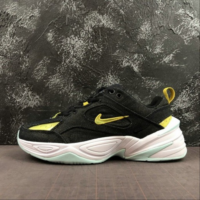 Men's 2019 Nike M2K Tekno LX Shoes Black BV0970-001