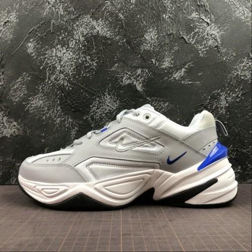 Men's Nike M2K Tekno AV4789-005 Wolf Grey Racer Blue