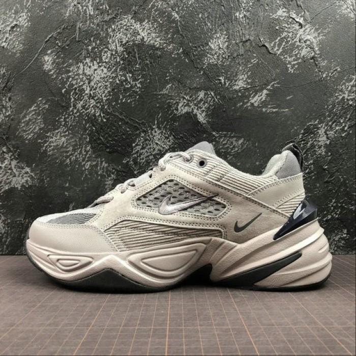 Men's Nike M2K Tekno BV0074-001 Pure Platinum Dark Grey Gris Fonce