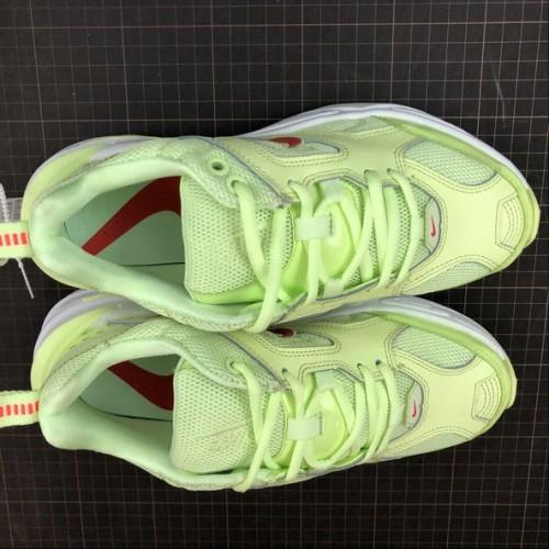 Women's Nike M2K Tekno Barely Volt Red Orbit White Rouge CI5842-700