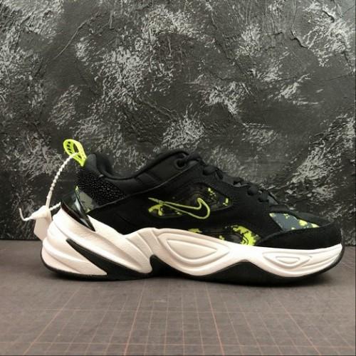 Women's Nike M2K Tekno Black Anthracite Hyper Pink Rose CI9086-001