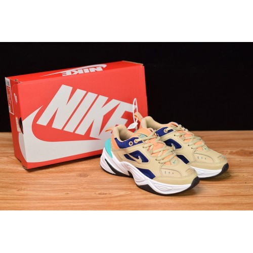 Women's Nike M2K Tekno Desert Ore Beige Blue AO3108-204