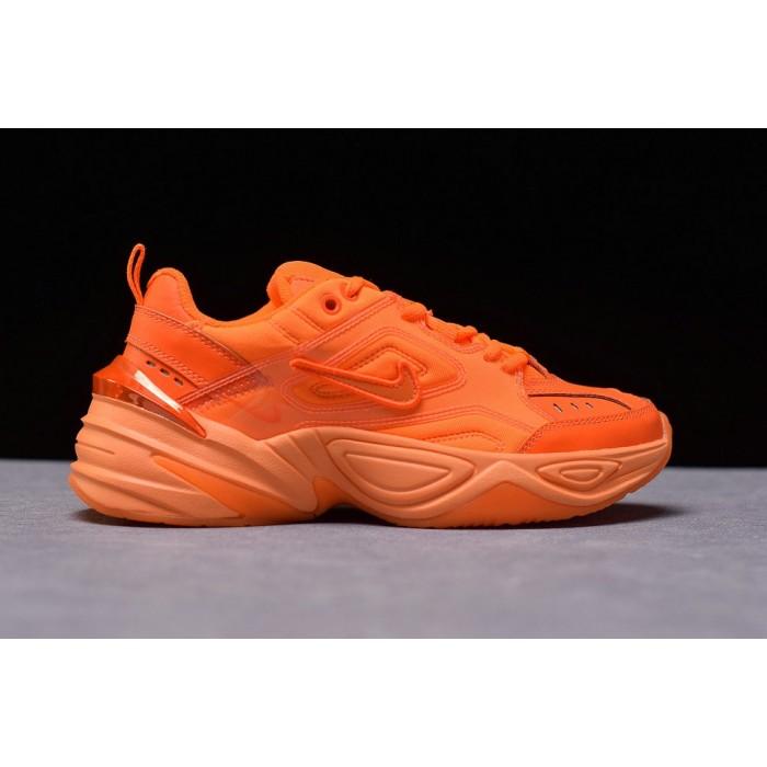 Women's Nike M2K Tekno PVC VOLT Total Orange CI5749-888