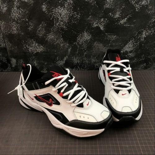 Women's Nike M2K Tekno White Black University Red AV4789-104