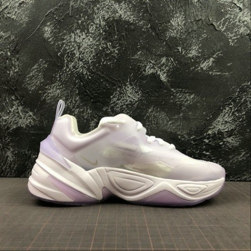 Women's Nike M2K Tekno White Vitality Purple White AO3108-505