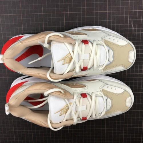Women's 2019 Nike M2K Tekno Sail Habanero Red-Desert Ore-White