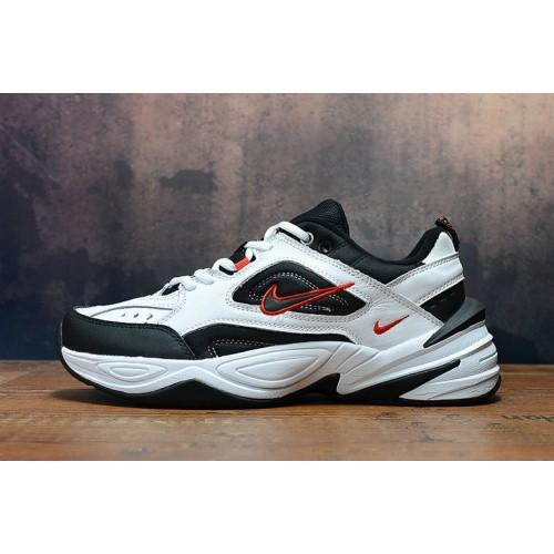 Women's 2019 Nike M2K Tekno White Red Black