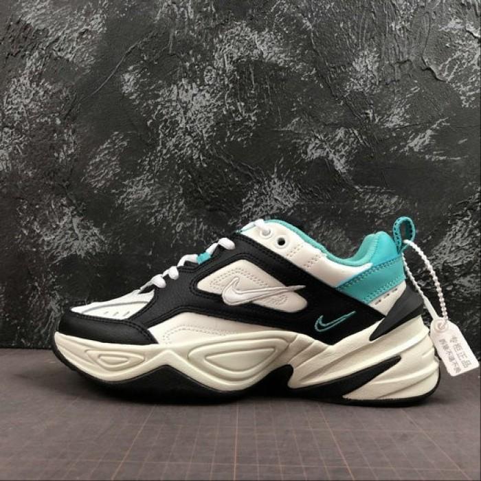 Women's 2019 Nike M2K Tekno white black turquoise AO3108-102