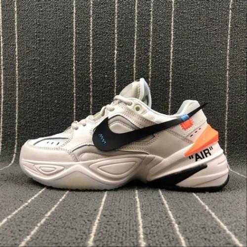 Women's Nike M2K Tekno x Off White AO3108-001 Matte Silver