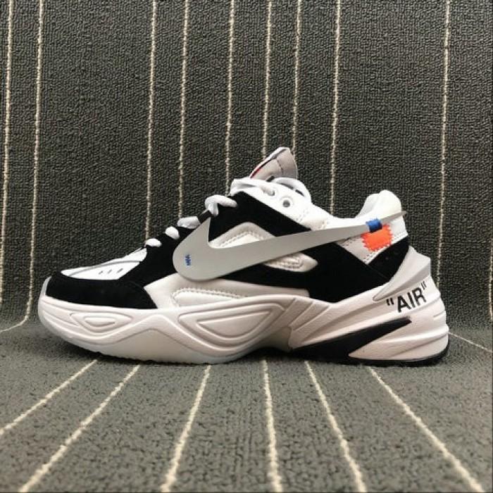 Women's Nike M2K Tekno x Off White AO3108-300 Phantom Grey Silver Fantome