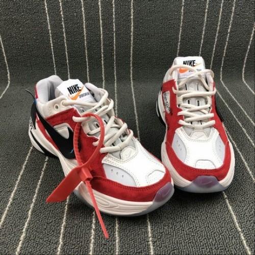 Women's Nike M2K Tekno x Off White AO3108-800 Phantome Oli Grey Matte Silver