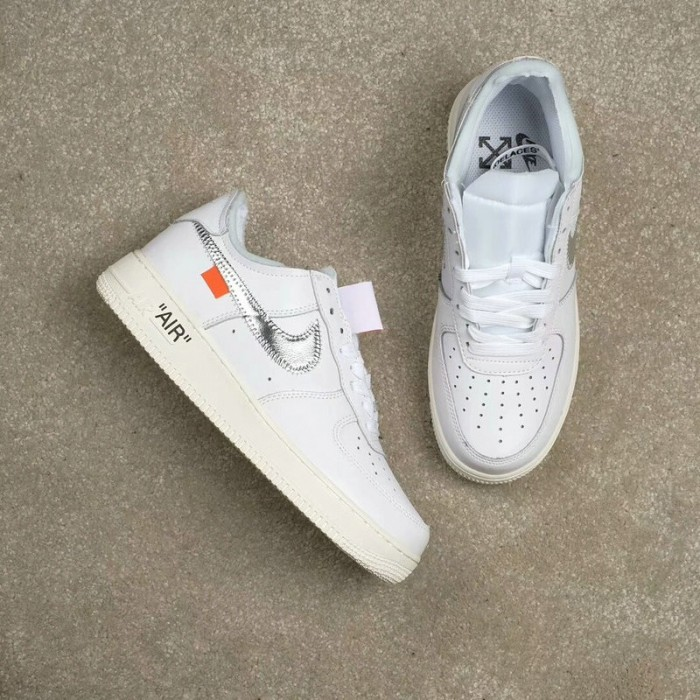 Men's 2018 New Nike Shoes Off White x Nike Air Force 1 Low