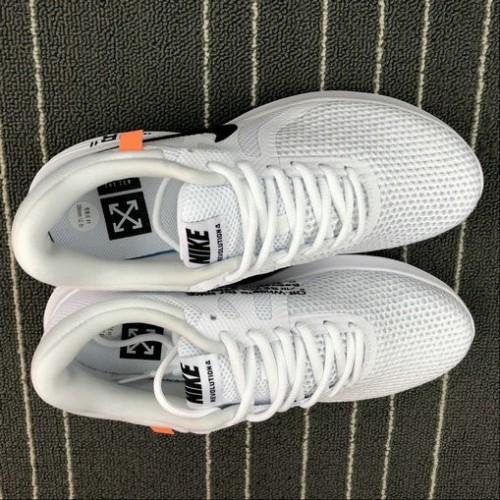 Men's Off-White x Nike Revolution 4 Triple White