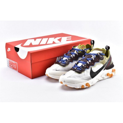 Men's Nike React Element 87 Shoes Undercover Light Beige